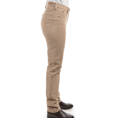 Stylish Outback Clothing Womens Thomas Cook Womens Stretch Moleskin Wonder Jean Slim Leg-SAND-TCP2228007