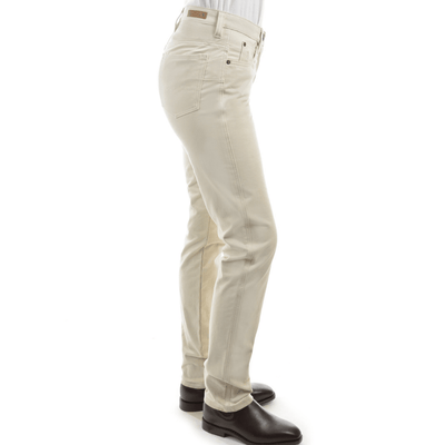 Stylish Outback Clothing Womens Thomas Cook Womens Stretch Moleskin Wonder Jean Slim Leg-STONE