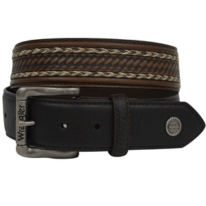 Stylish Outback Clothing Womens Wrangler Perry Full Grain Leather Belt