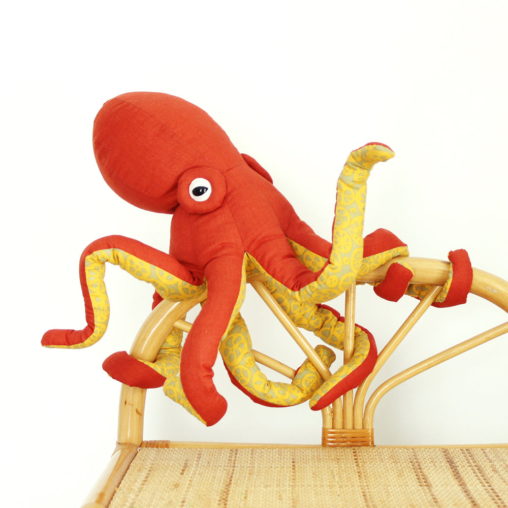 Octopus Printed Sewing Pattern