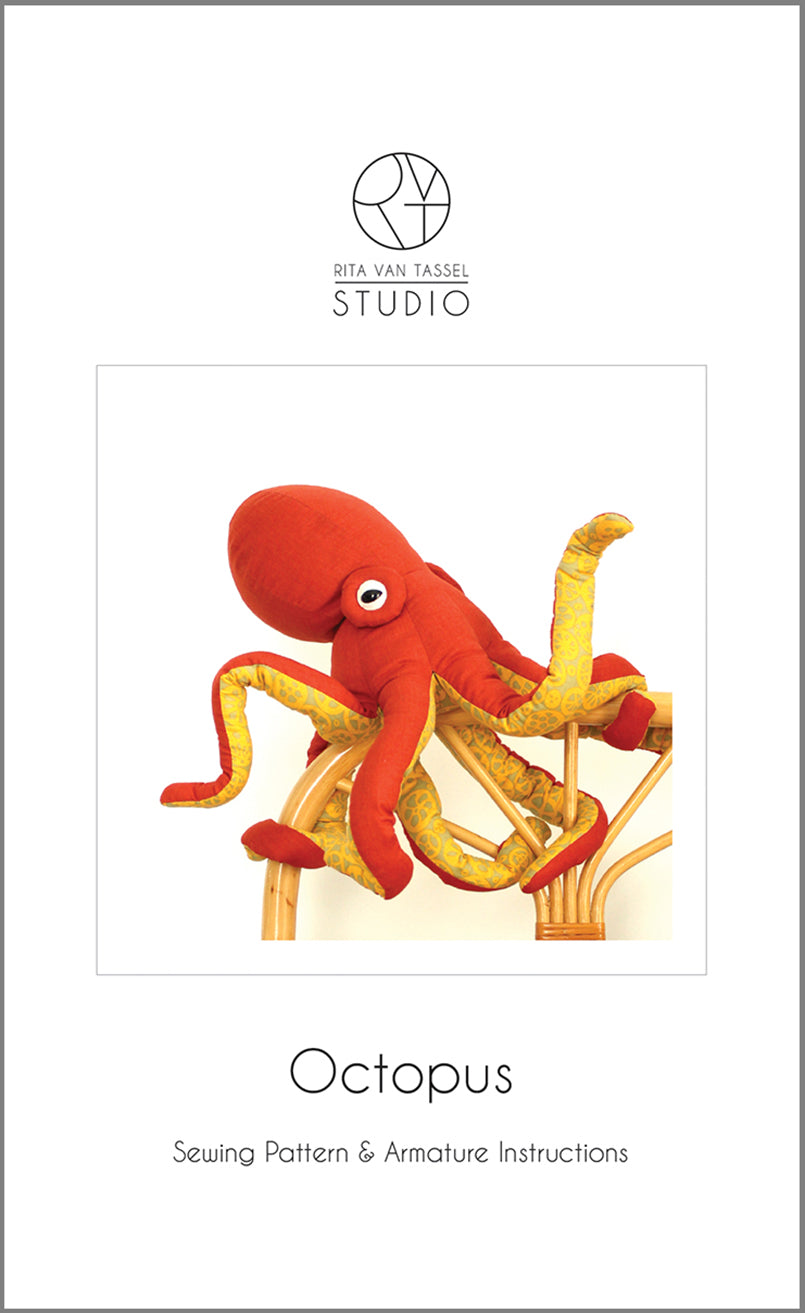 Octopus Sewing Pattern - PDF Download