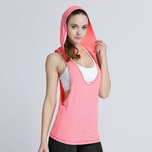 The Rihana Hooded Sports Top