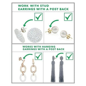 18K Hypoallergenic Earring Lifter Pair [Over 60% Off - Today Only!]