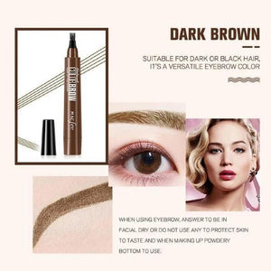 4 Point Microblading Eyebrow Pen [Over 60% Off Today!]