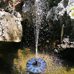 Solar-Powered Bird Fountain Kit - No Setup Required! [50% Off Today Only!]