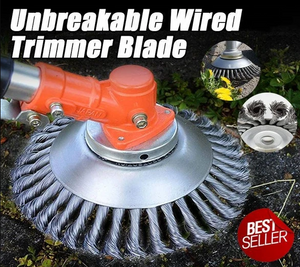 Unbreakable Wired Trimmer Blade - [Spring Sale 50% Off - Time Is Almost Up!]