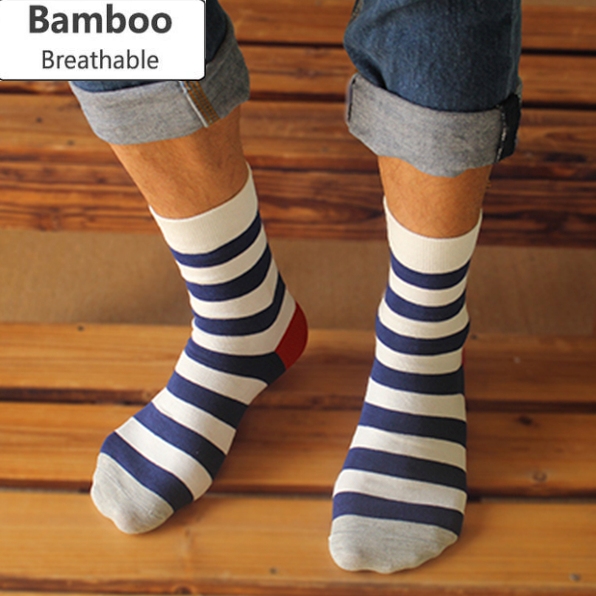 Stink-Proof Breathable Bamboo Socks - 5 Pack