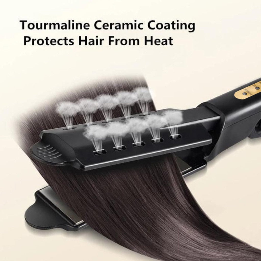 Ceramic Tourmaline Ionic Flat Iron Hair Straightener [Over 60% Off PLUS Free Shipping!]