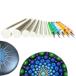 Mandala Dotting Tools Kit (13 Pcs)