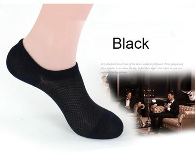 """Stink-Proof"" No-Show Bamboo Ankle Socks"
