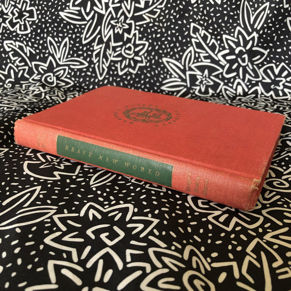 Brave New World By Aldous Huxley Vintage 1950 Hardcover Book