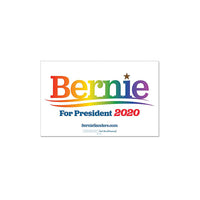 Bernie 2020 Pride - Rally Sign