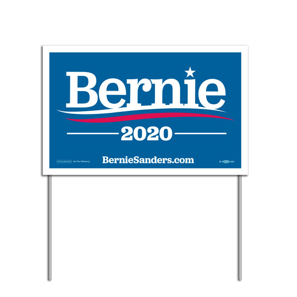 Bernie 2020 Lawn / Yard Sign