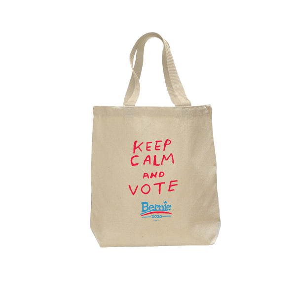 """Keep Calm & Vote"" Tote Bag by Nathan Bell"