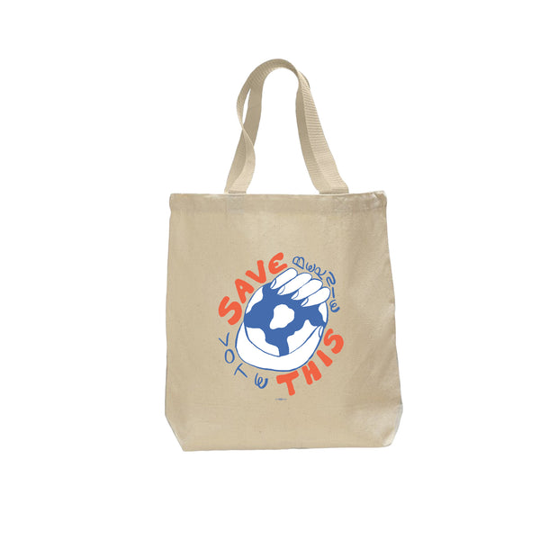 """Save This"" Tote Bag by Ty Williams"