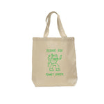 """Bernie for Planet Earth"" Tote Bag by Ellen Voorheis"