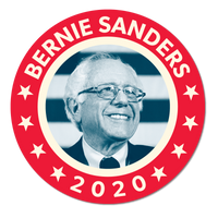 Bernie FDR Sticker