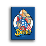 """Bernie!"" Fridge Magnet by Jeremy Wheeler"