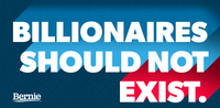 Billionaires Should Not Exist Sticker