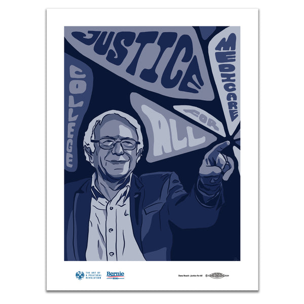 """Justice For All"" Poster by Dana Roach"