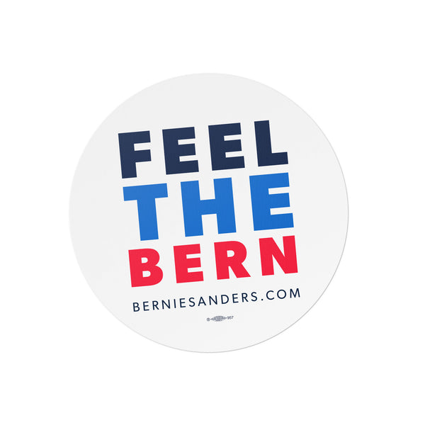 Feel The Bern Car Magnet