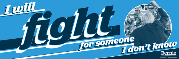 Fight for Someone Bumper Sticker