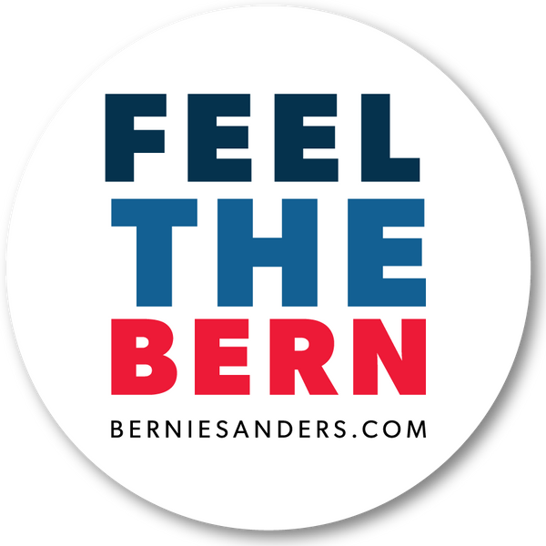 Feel the Bern Sticker