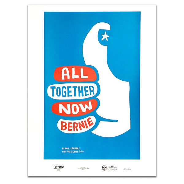 """All Together Now"" Poster by Jackson Tupper - 2016"