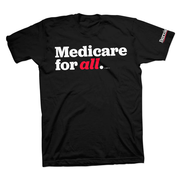 Medicare for All Tee - Black