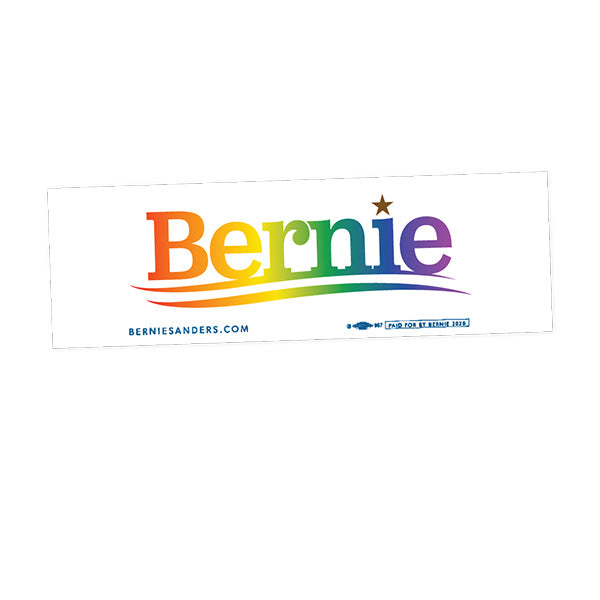 Pride Bumper Sticker - White