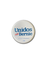Unidos con Bernie Button