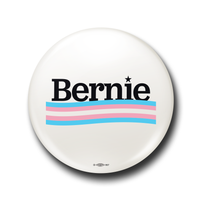 Bernie Trans Pride Button