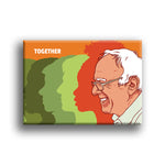 """Together"" Fridge Magnet by Jermaine Rogers"