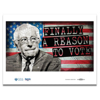 """A Reason To Vote"" Poster by Greg Auerbach"