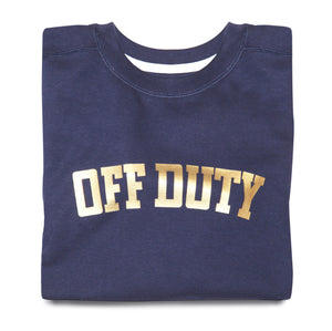 OFF DUTY SWEATSHIRT (NAVY)
