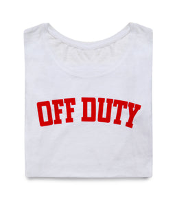 OFF DUTY TSHIRT