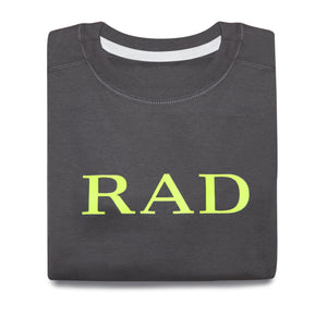 RAD SWEATSHIRT (CHARCOAL)