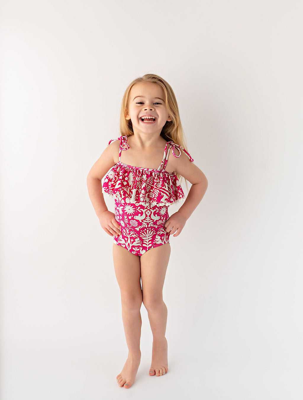 Ella One Piece // Pink Otomi