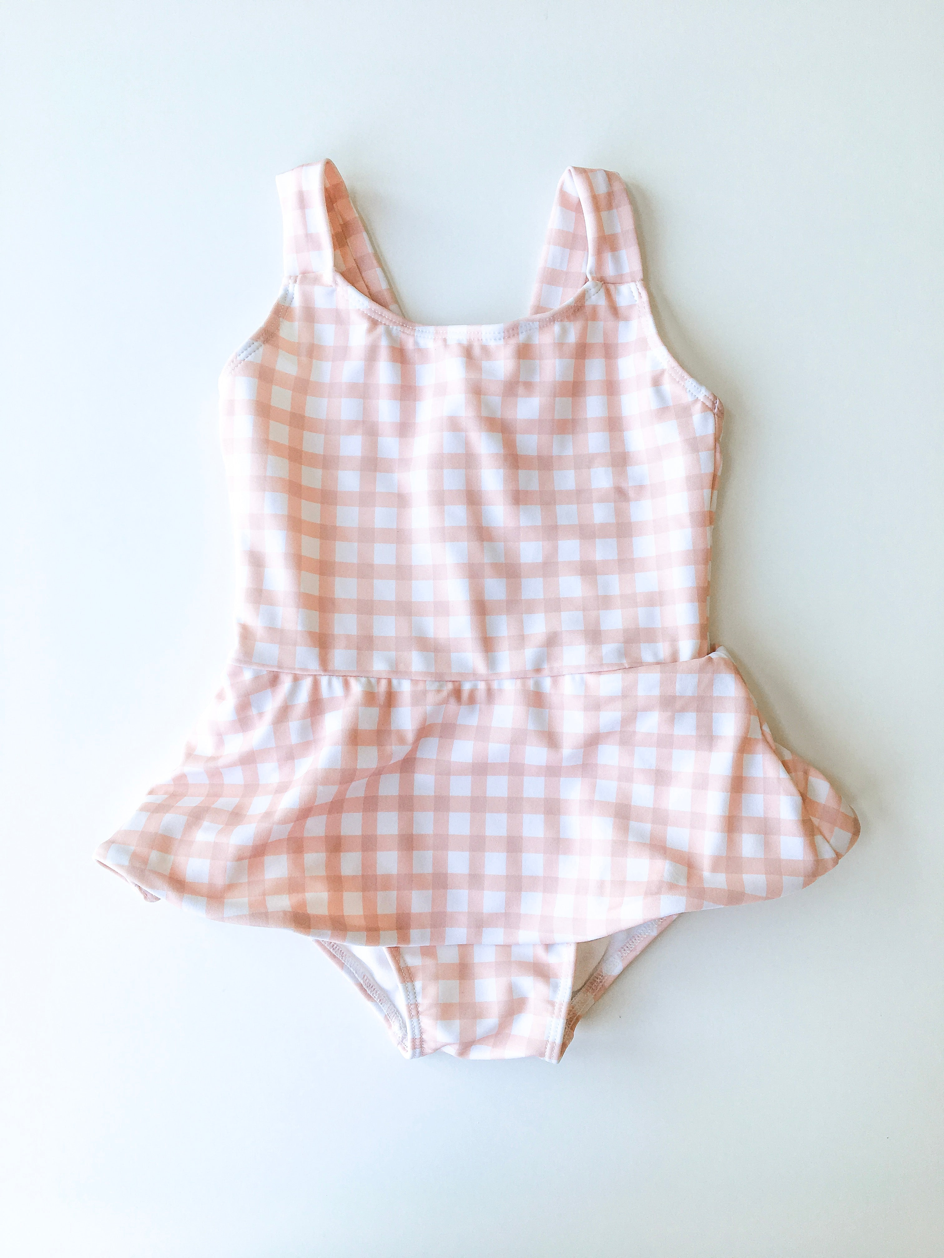 Nellie One Piece // Linen Check