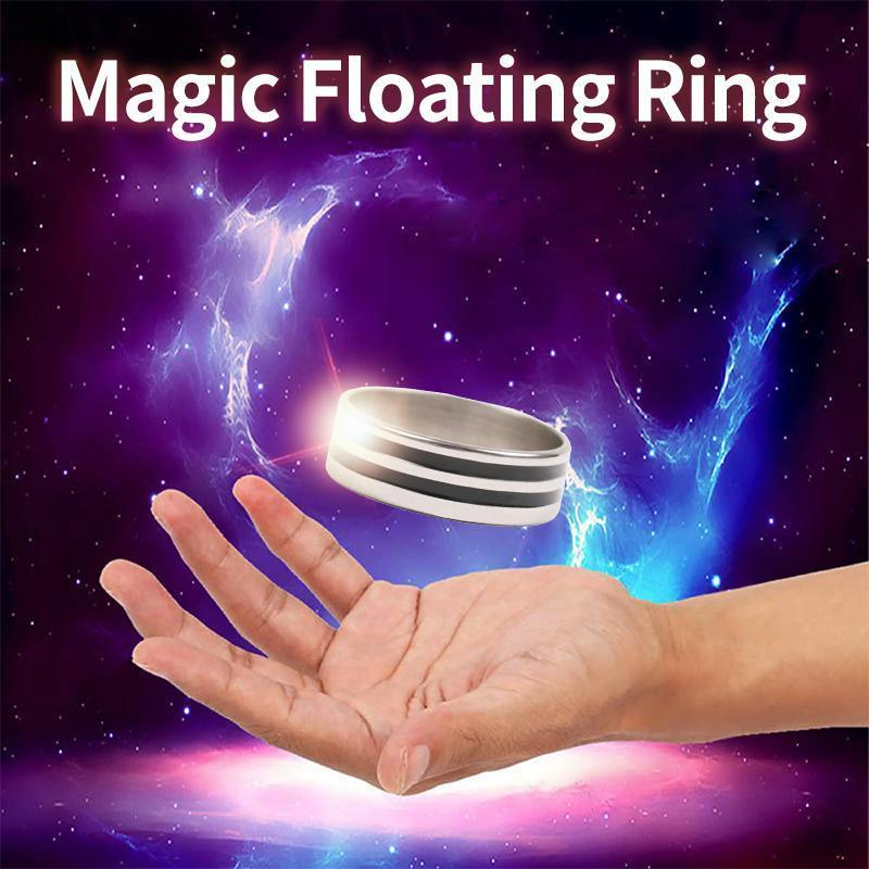 HOMIEPIE™ Magic Props Floating Ring Magic Trick