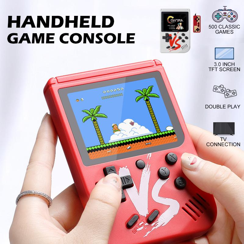 Homiepie™ Handheld Game Console - 500 Classic Games