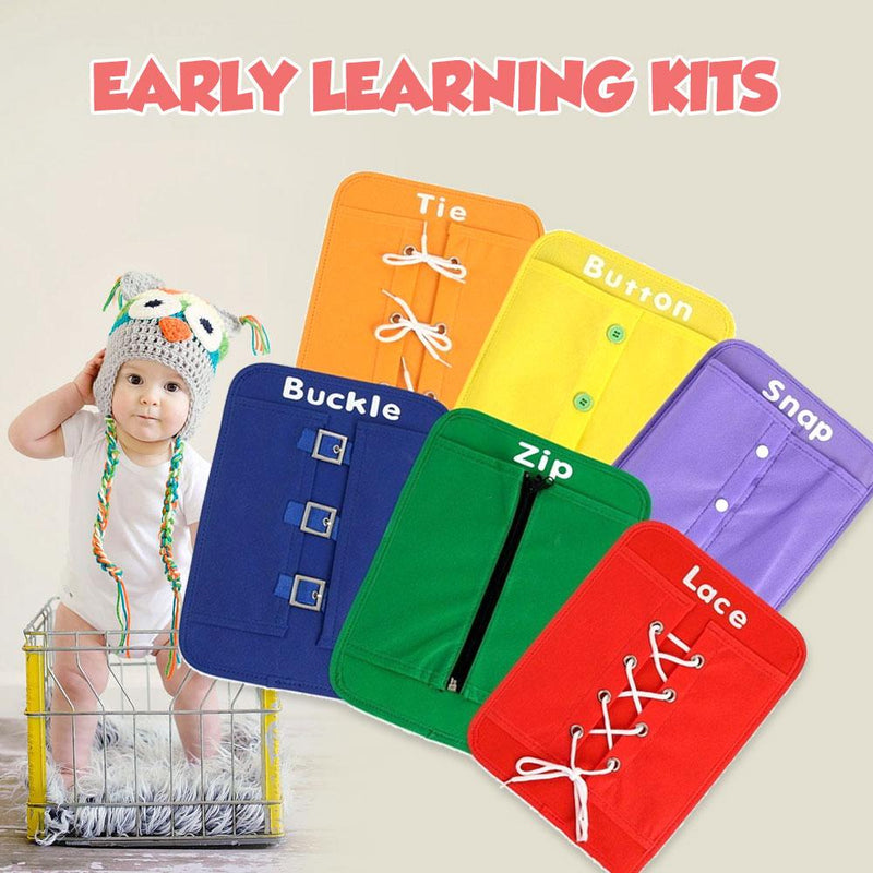 Homiepie™ Early Learning Kits (6 PCs)