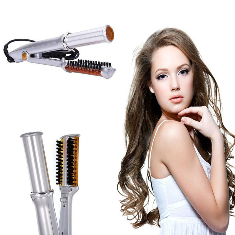Professional 2-Way Rotating Straight Hair Curler