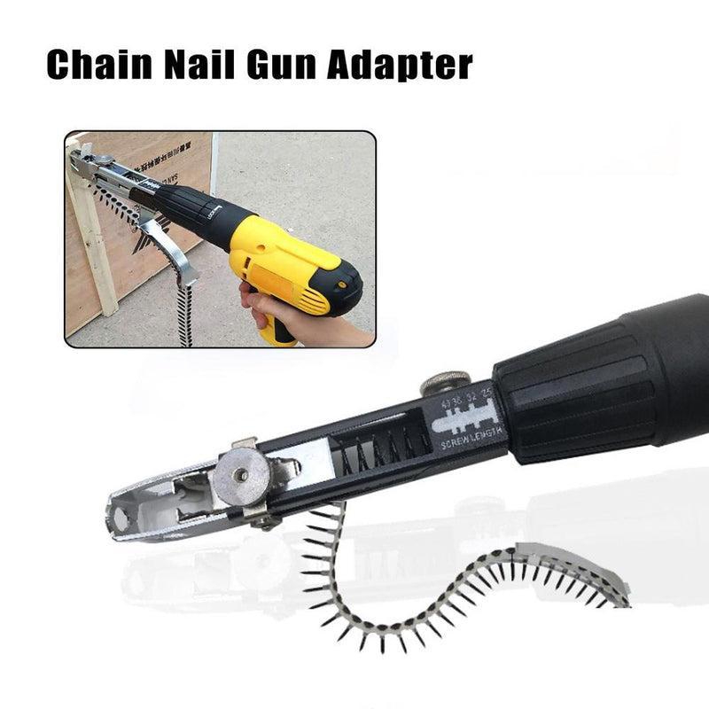 Electric Drill Chain Nail Gun Adapter