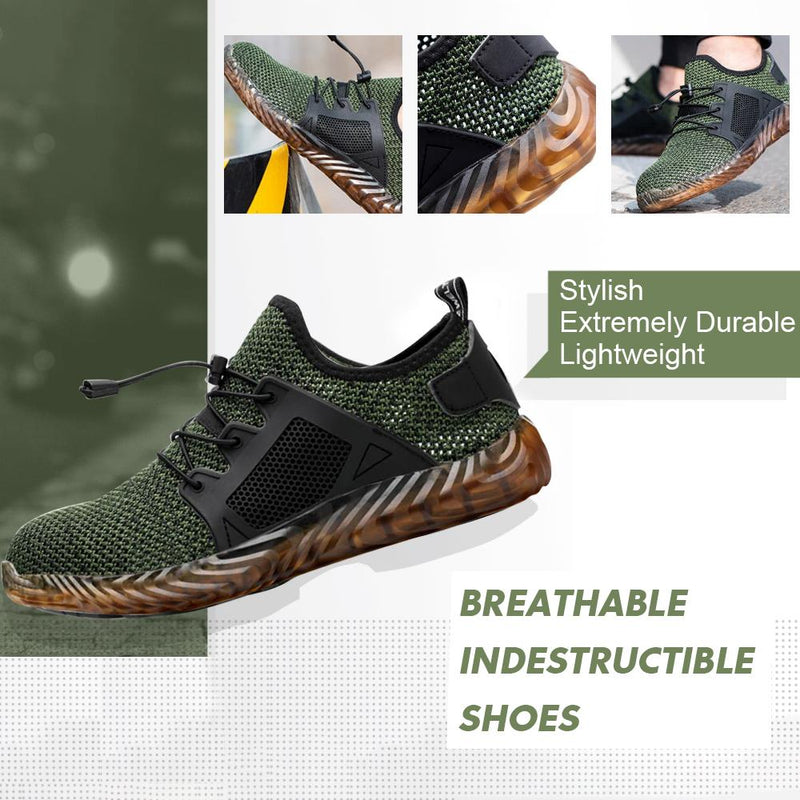 Breathable Lightweight Comfortable Steel Toe Shoes