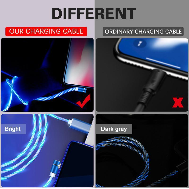Hirundo 3-in-1 Magic Flow Light Charging Cable