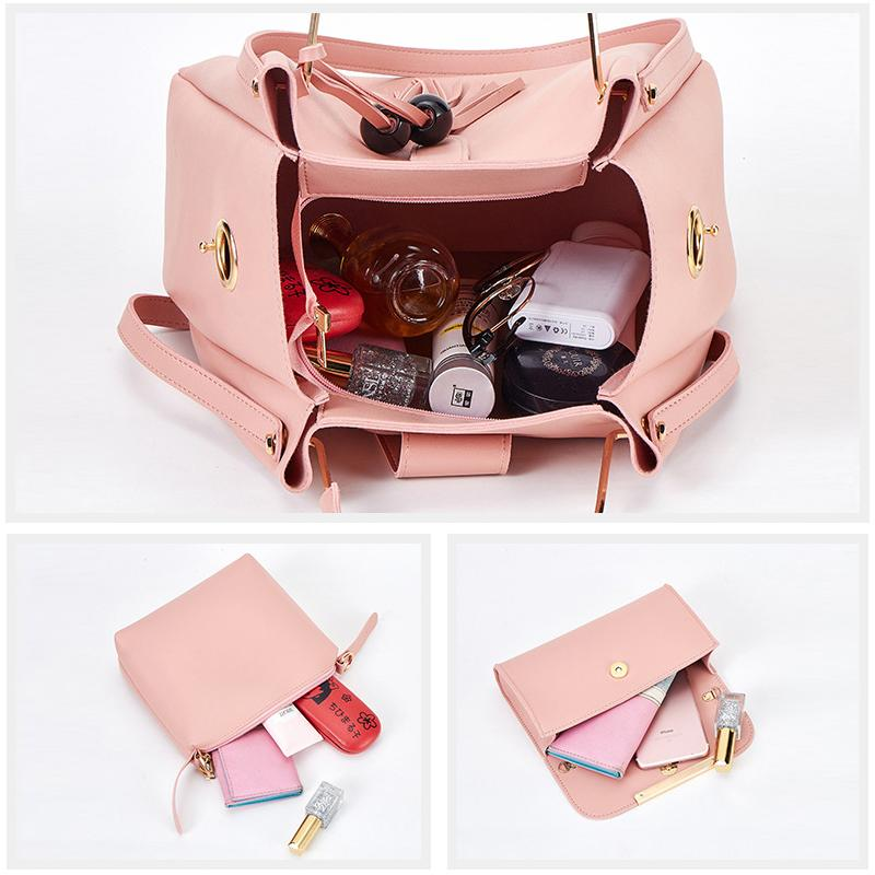 Ladies Fashion Purses and Handbags 3 PCS Sets