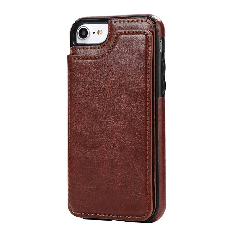 Leather Wallets Phone Case for iPhones, with card slots