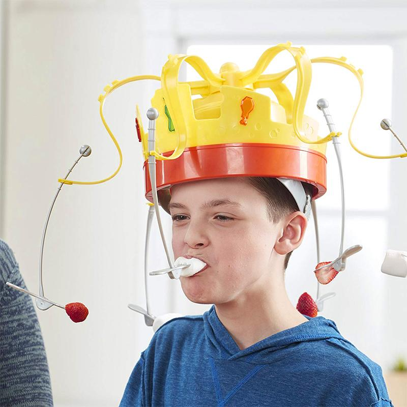 Food Game Hat Funny Tricky Party Crown Type Toys