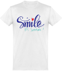 T-shirt Homme Smile it's Sounnah